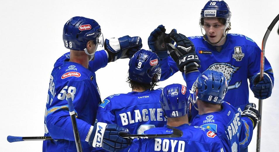 Плей-офф КХЛ: «Барыс» сравнял счет в серии с «Авангардом»