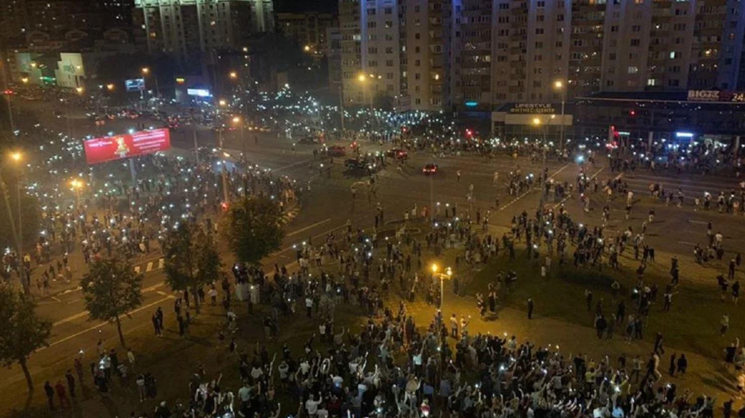 В Беларуси возбуждены уголовные дела по фактам массовых беспорядков