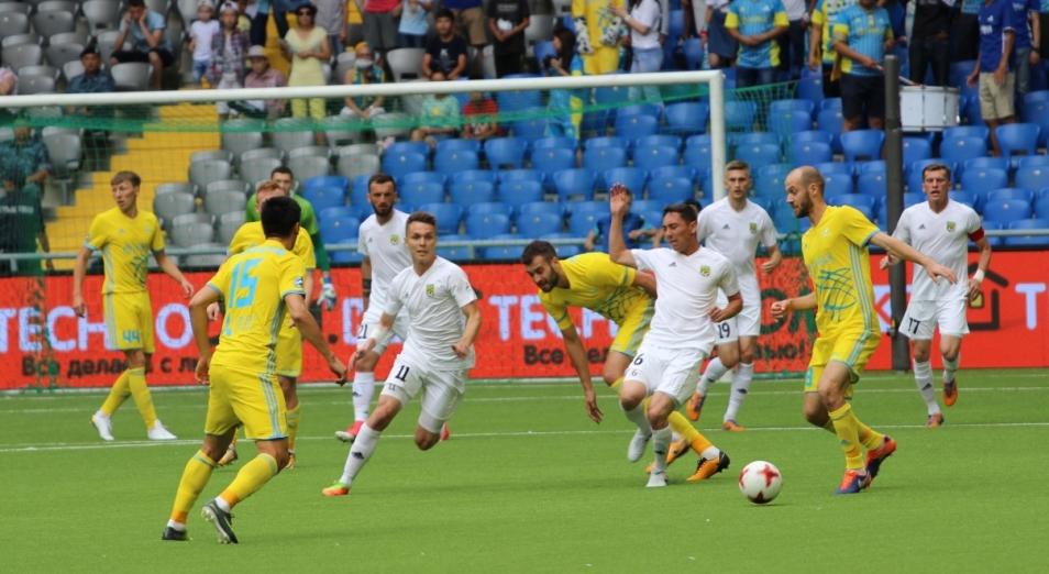 Чемпионат Казахстана по футболу: «Тобол» потеснил «Астану»