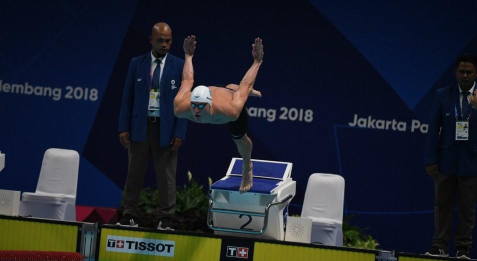 Баландин взял бронзу Champions Swim Series