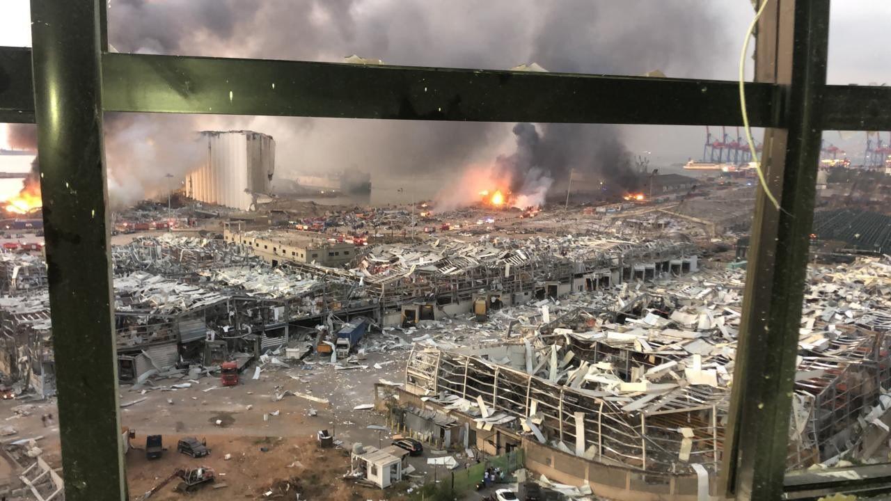 Число жертв взрывов в Бейруте достигло 100 человек