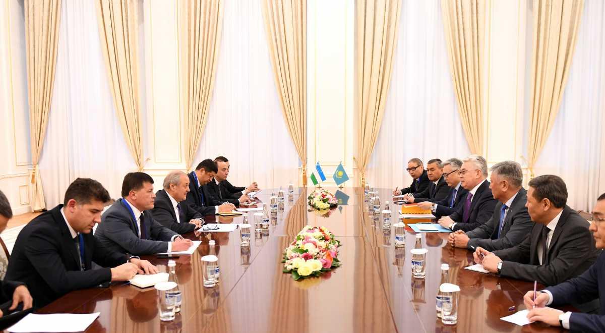Глава МИД Казахстана провел двусторонние встречи с Министрами иностранных дел Центральной Азии