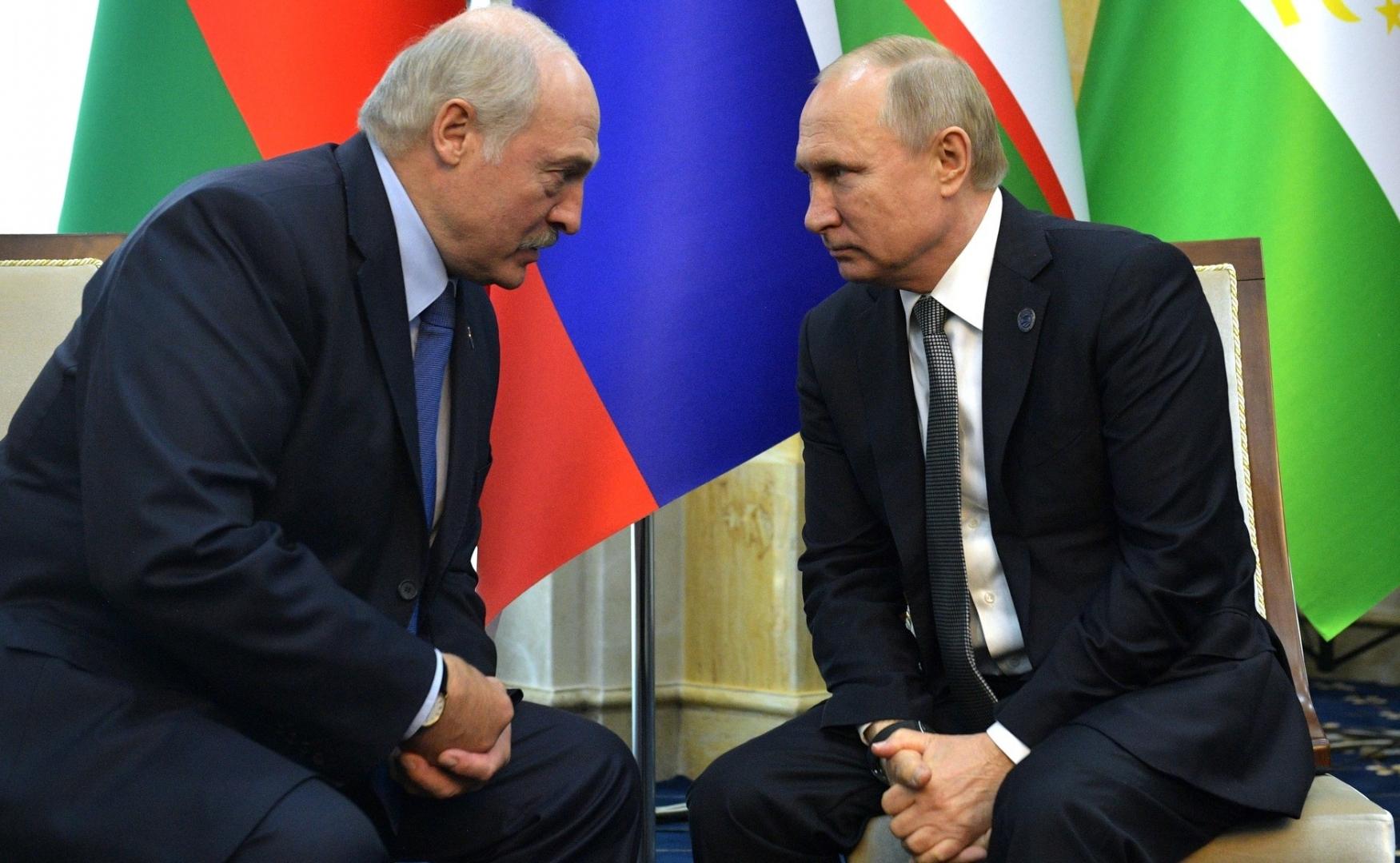 Лукашенко и Путин подтвердили, что в случае обострения ситуации в Беларуси будут реагировать согласно положениям Договора о коллективной безопасности