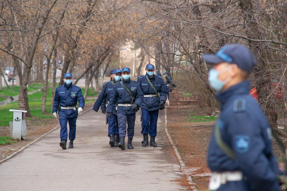 В Алматы в усиленном режиме работают мониторинговые группы по контролю за соблюдением карантина