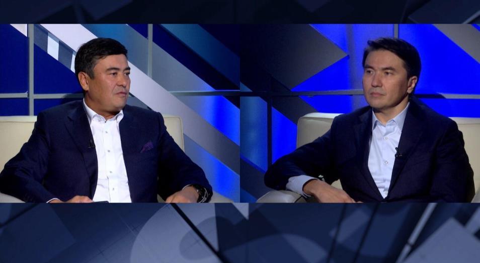 Арманжан Байтасов и Канат Сахария обсудили важные вопросы медиарынка в Казахстане