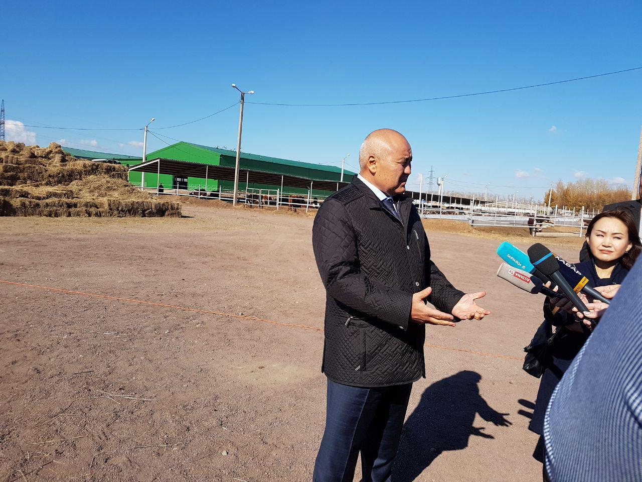 Өмірзақ Шөкеев Қарағанды облысында бірқатар кәсіпорынды аралады