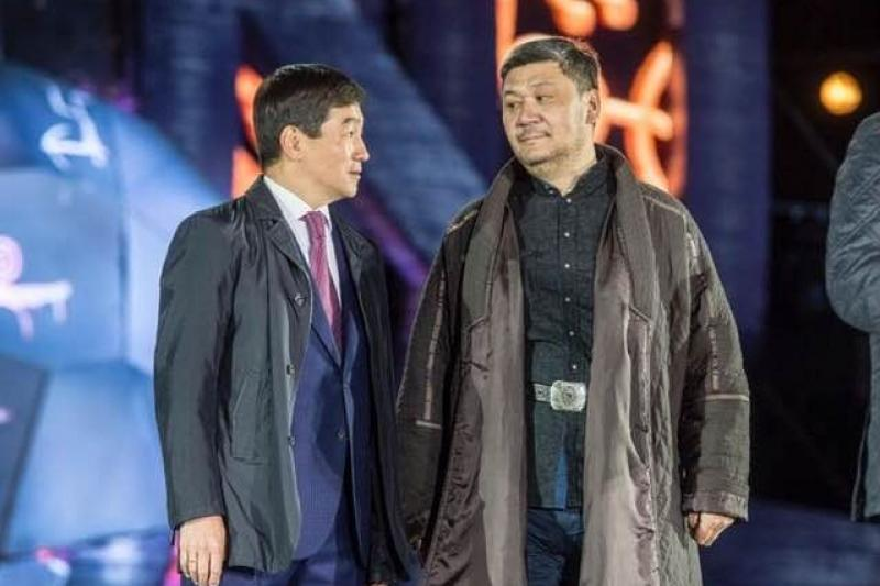 Аким Алматы Бауыржан Байбек стал почетным президентом Федерации қазақ күресі