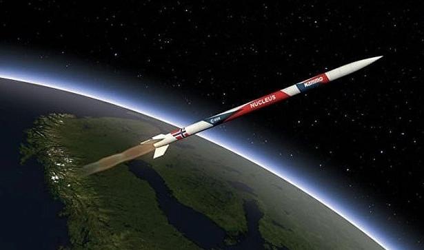 В Норвегии запустили в космос ракету полностью отечественного производства