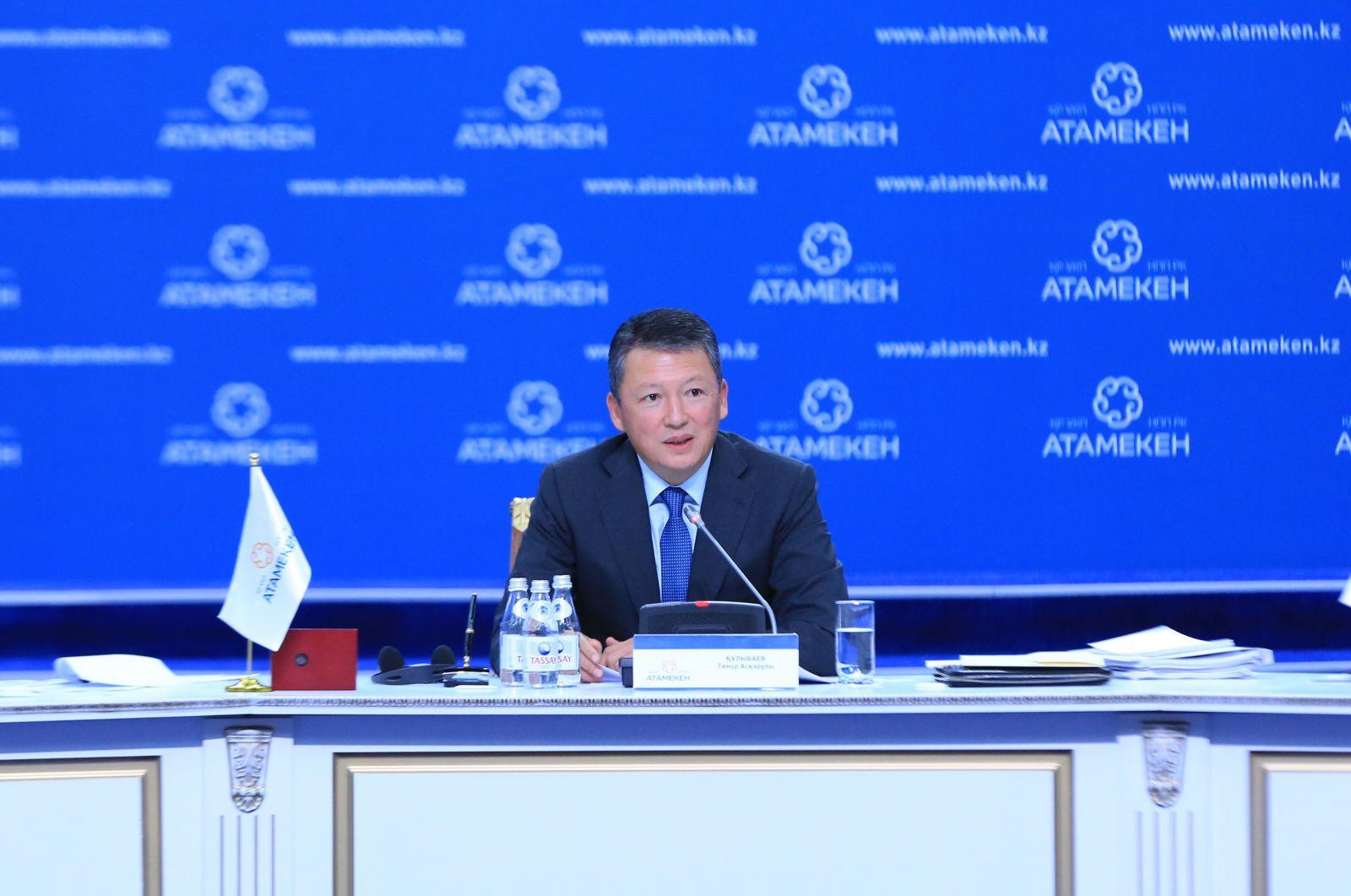 Тимур Кулибаев: «Холдингам и госорганам нужен KPI по закупкам»