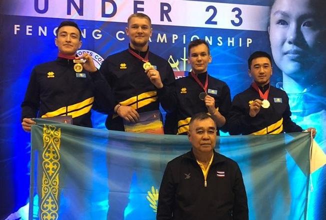 Семсерлесуден Азия чемпионатында спортшыларымыз екі «алтын» алды