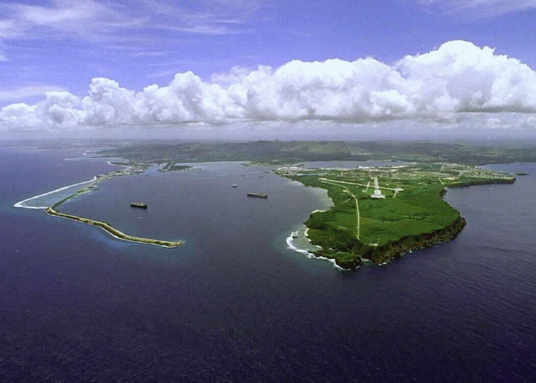Около острова Гуам в Тихом океане произошло землетрясение магнитудой 6,4