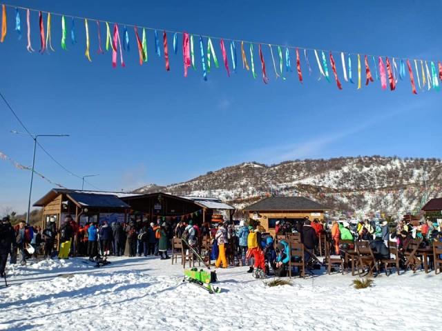 Круглогодичный горнолыжный курорт в Алматинской области открыт на высоте 1,5 км