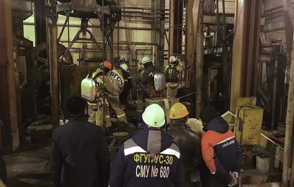 Тела восьми горняков обнаружили в аварийной шахте в Соликамске