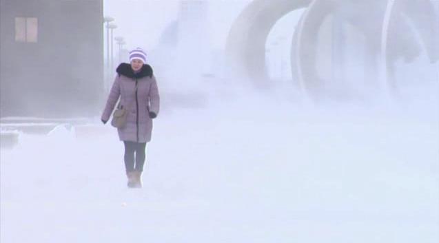 Погода в столице: морозы ослабнут, придут метели