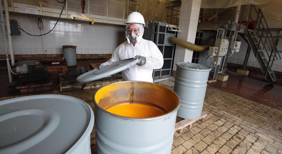 Казахстан в январе-октябре снизил добычу урана на 7,3%, до 17,8 тыс. тонн