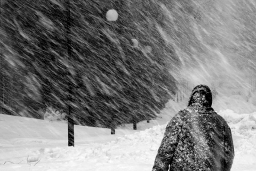 Снежные осадки с ветром ожидают казахстанцев в понедельник