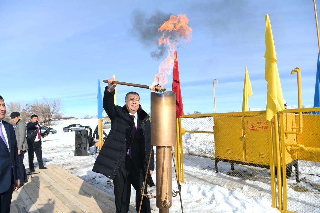 Населённые пункты газифицировали в Туркестанской области