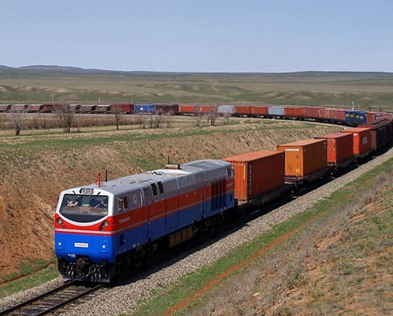 Грузооборот по ж/д маршруту Восточный Китай - Европа через Казахстан увеличился на 80%