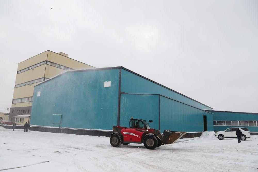 В Петропавловсе появилось первое овощехранилище с климат-контролем