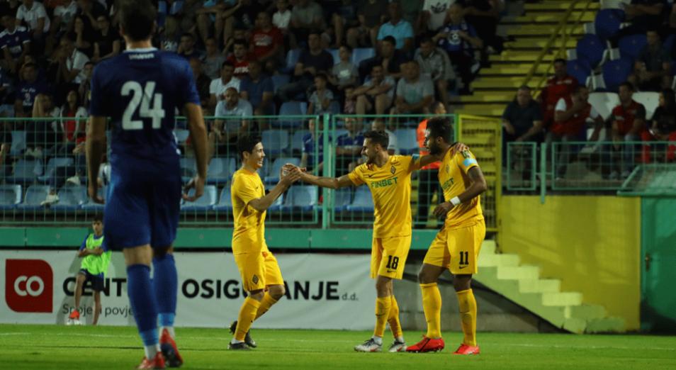 Лига Европы: «Кайрат» первым привез победу из Боснии