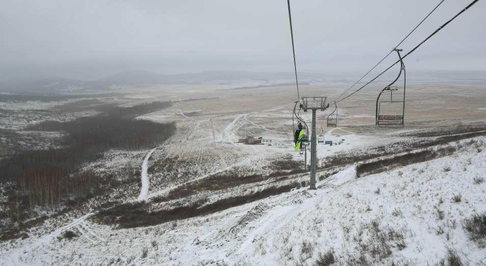 Баянаульскую горнолыжную базу подготовили к первому полноценному курортному сезону