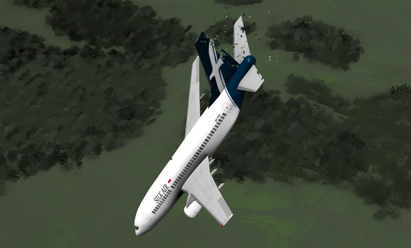 В Калифорнии самолет протаранил здание