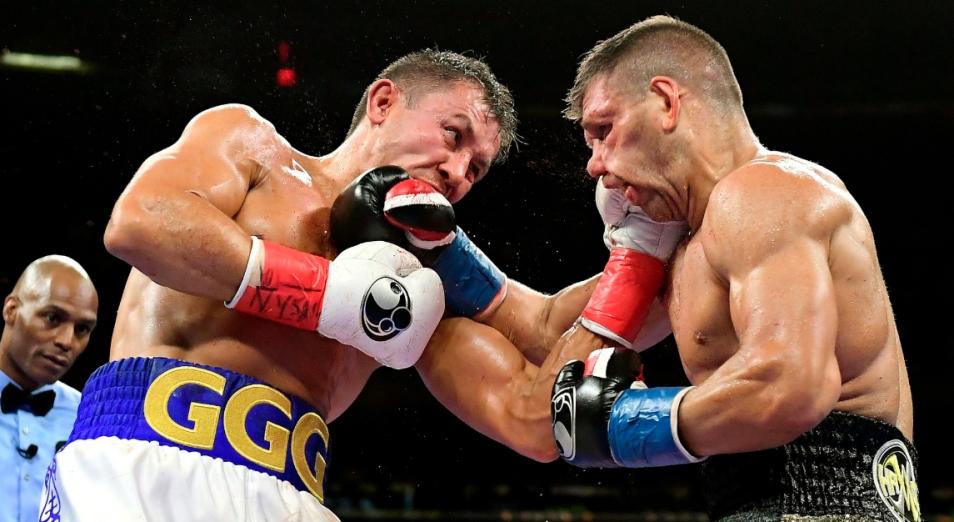 На Украине признали титульный бой GGG поединком года
