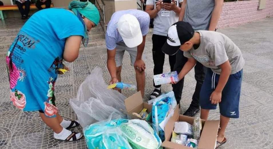 Предприниматели со всего Казахстана оказывают матпомощь арысцам