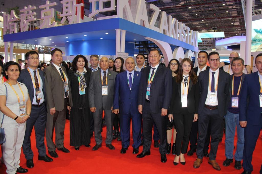 Производители Казахстана показали свою продукцию в Шанхае