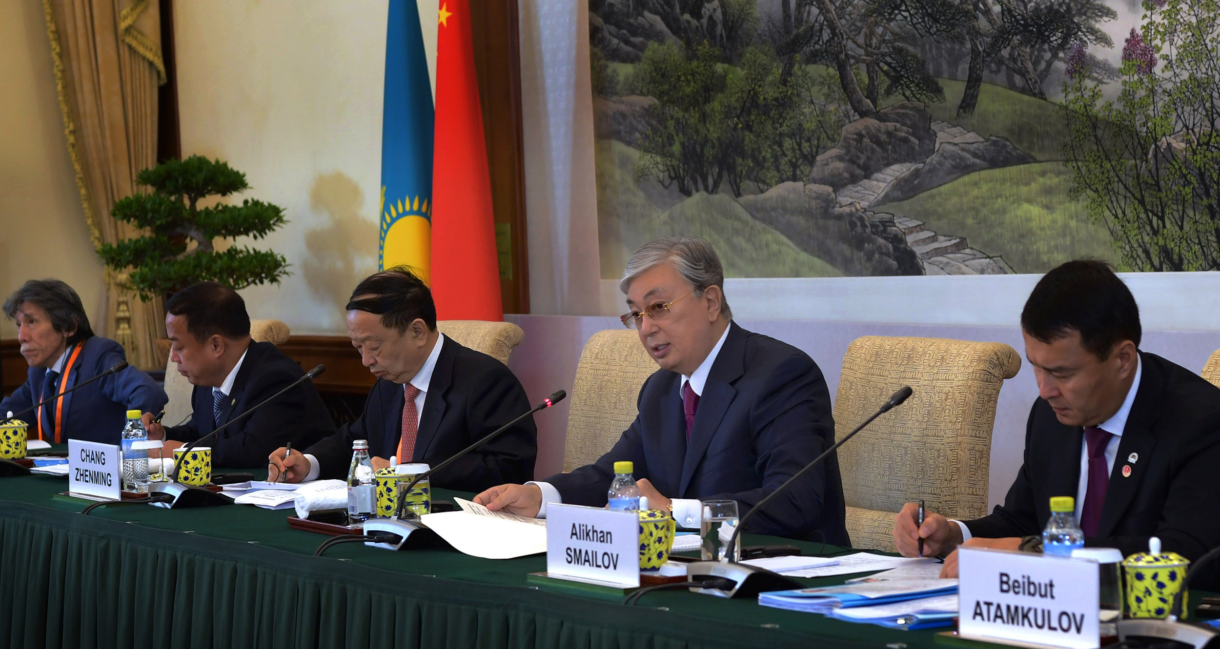 Президент Қытайдың іскерлік ортасын Қазақстанда туристік орталықтар салуға шақырды