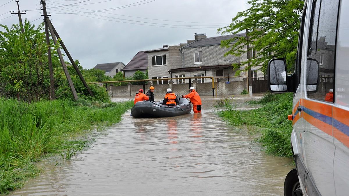 Ряд регионов находятся под угрозой паводков из-за недофинансированности