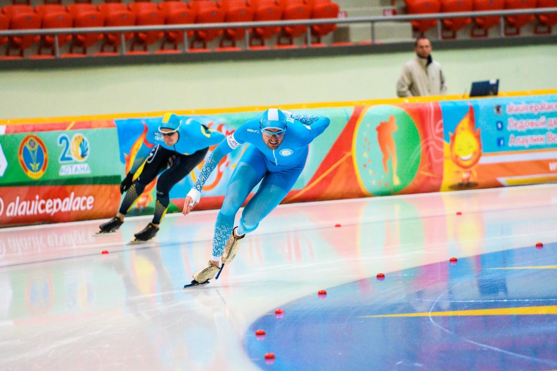 В Астане стартовал Кубок Казахстана по конькобежному спорту