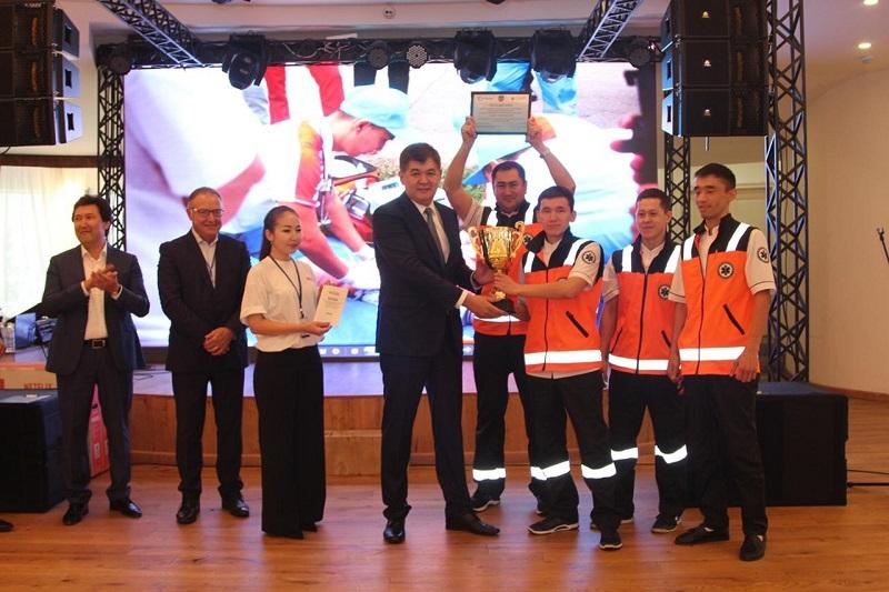 Столичная бригада скорой помощи признана лучшей в Казахстане