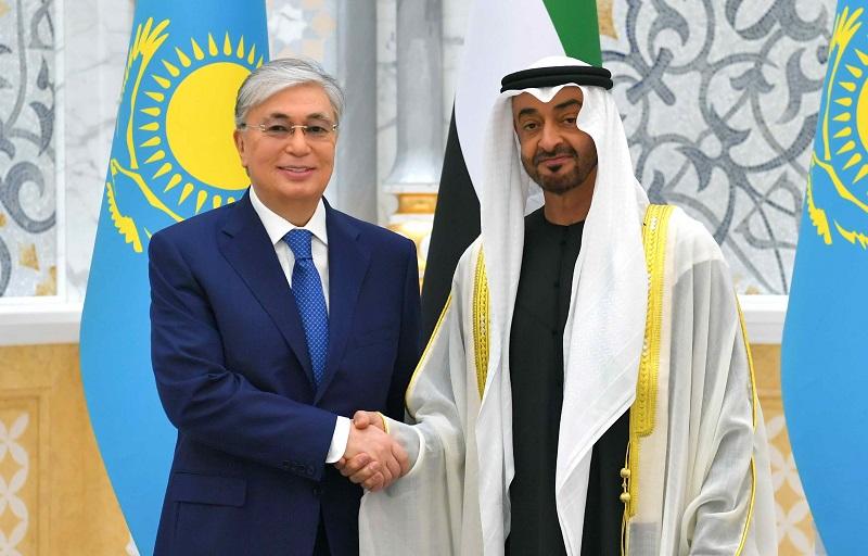 Отношения Казахстана и ОАЭ имеют большие перспективы – Токаев