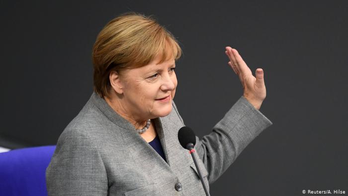 Меркель сдала второй тест на Covid-19