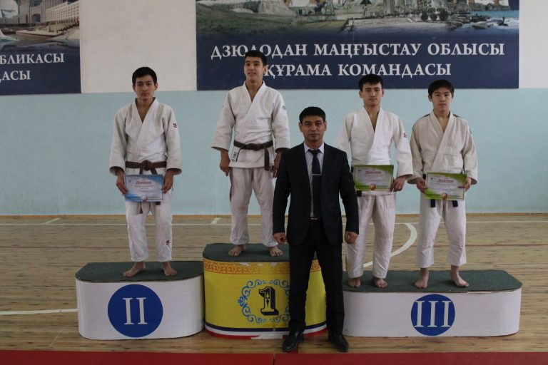 Казахстанские дзюдоисты выиграли открытый Кубок Азии