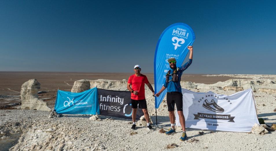 Алматинец пробежал по всем регионам Казахстана