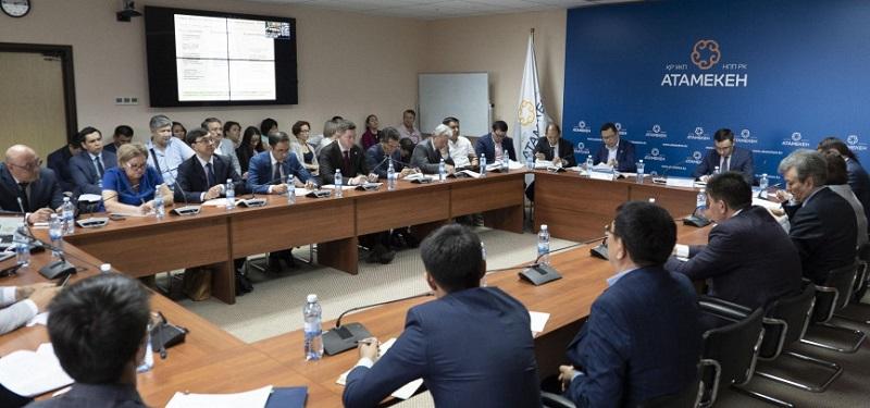 В НПП РК «Атамекен» презентовали проект ГПИИР 2020-2025