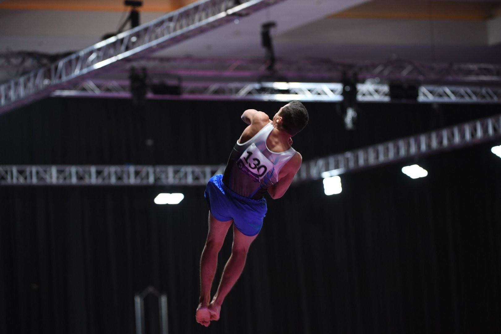 Казахстанец с первого места вышел в финал этапа Кубка мира по спортивной гимнастике