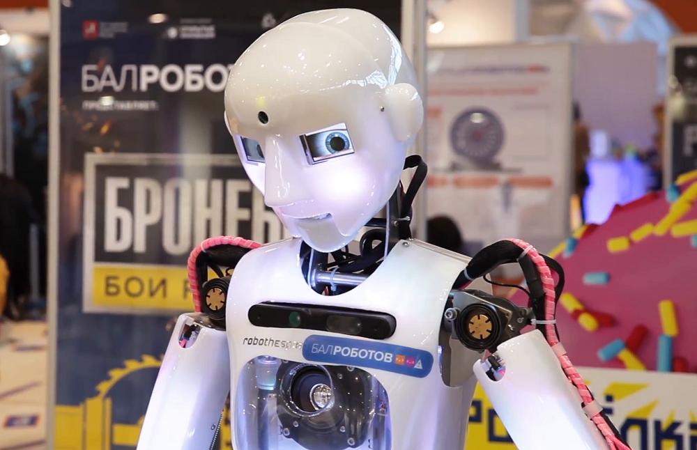 Назарбаева и Путина в Петропавловске будет встречать робот-актёр