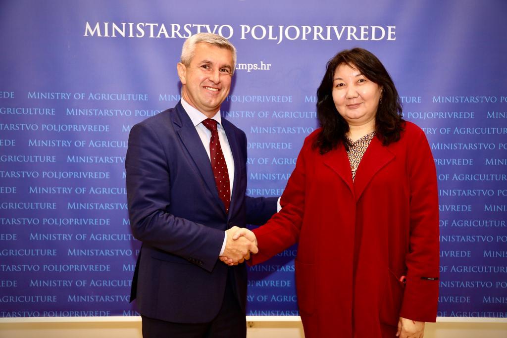 Хорватия поможет Казахстану в вопросе адаптации молочной продукции к требованиям ЕС