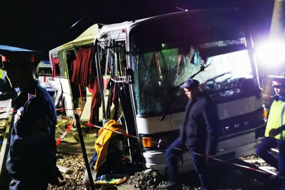 Ровно год со дня трагедии на переезде Шамалган