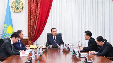 Бақытжан Сағынтаев Қытайдың еліміздегі елшісімен кездесті