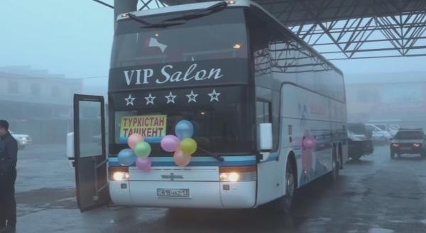 «Түркістан-Ташкент» халықаралық автобус бағыты ашылды