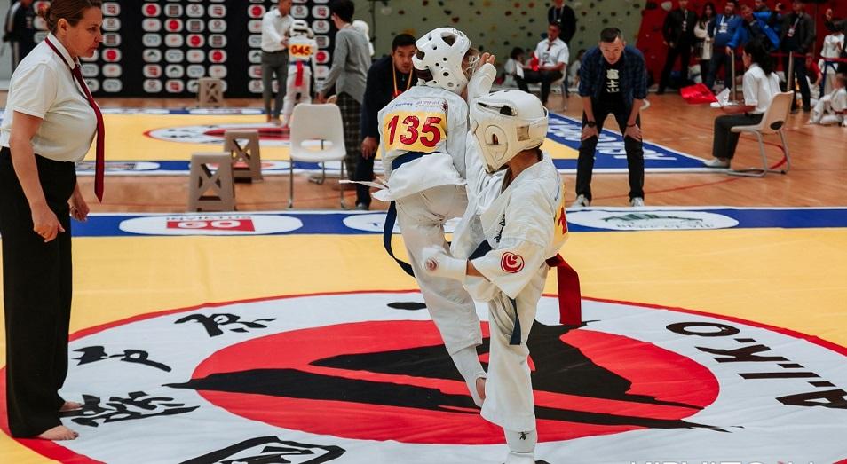 Казахстанские каратисты удержали первенство на прошедшем чемпионате Asia Open