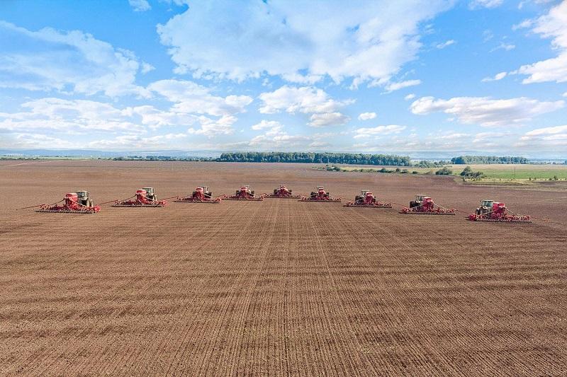 В Казахстане уже засеяно 65% зерновых
