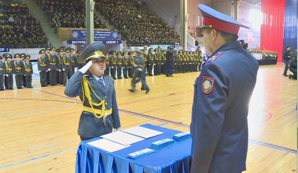 Қарағандыда 168 оқушы кадетке қабылданды