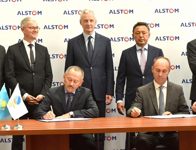«ҚТЖ» мен Alstom арасында меморандумға қол қойылды