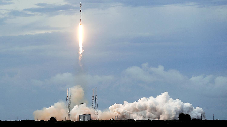 Ракета SpaceX вывела на орбиту очередной спутник GPS новейшего поколения