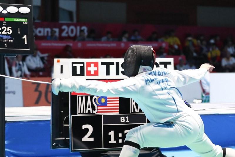 Гран-при по фехтованию на шпагах: казахстанец оказался на четвертом месте в мировом рейтинге